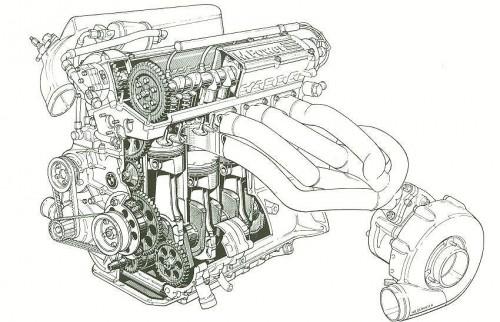 #Tech – Raw Power : The BMW M12/13 F1 Engine.
