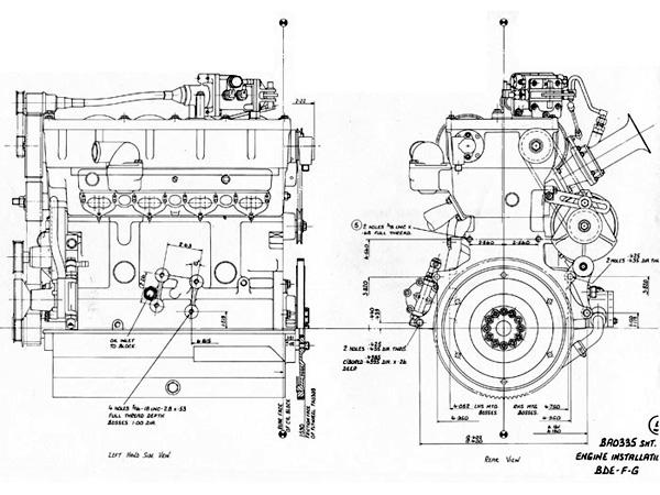tech  u2013 the cosworth bd engine   u2013 historic motor sport
