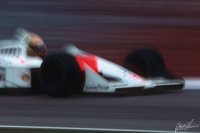 The Golden years, McLaren, 1988, Hockenheim.