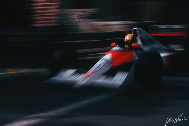 The Golden years, McLaren, 1990, Monaco.