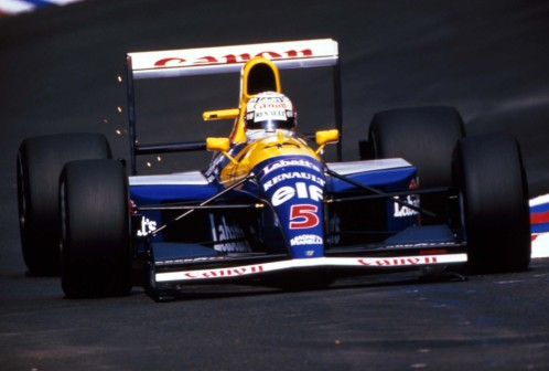 Nigel & The FW14B.
