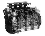 Mazda 4 Rotor 13J-M engine.