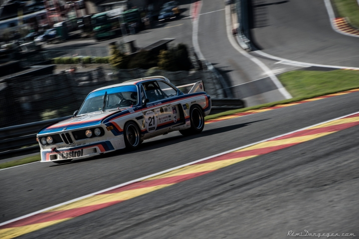 The 1973 all conquering ex Dieter Quester & Toine Hezemans BMW 3.0 CSL. 24 Hours of Le Mans and 24 Hours of Spa as well as ETCC winner.