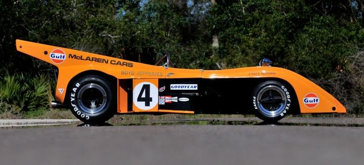 Peter Revson M20.