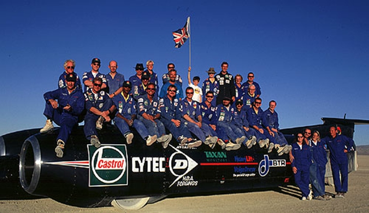 The Thrust SSC Team.