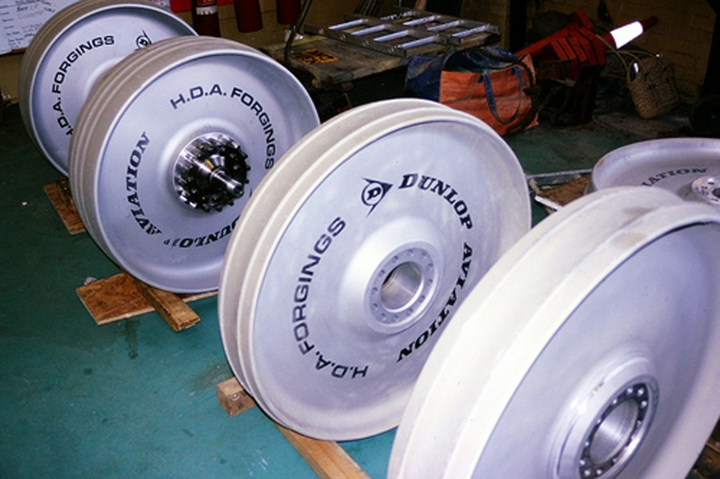 The Dunlop developed and purpose built wheel.