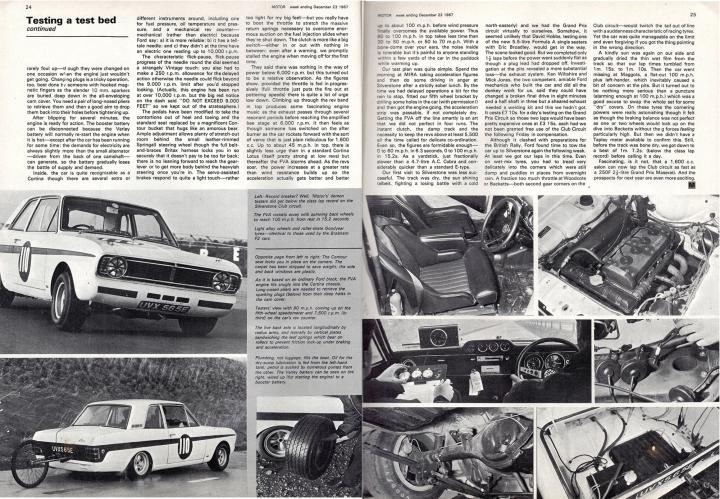 Motor Magazine - December 1967.