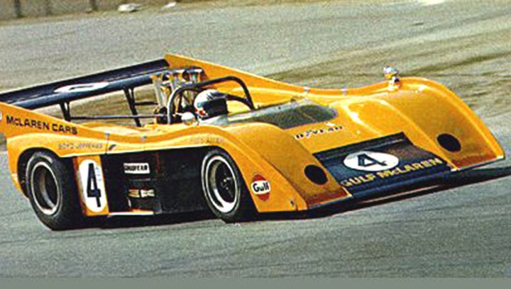 Peter Revson and the M20.
