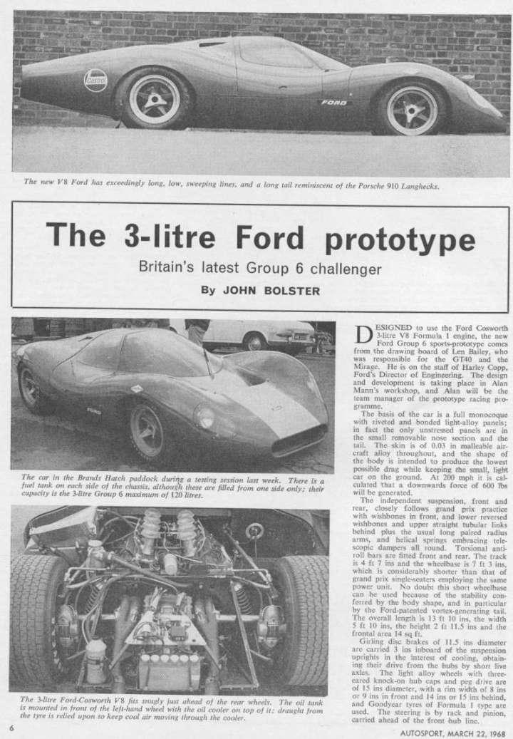 Autosport, March 22, 1968.