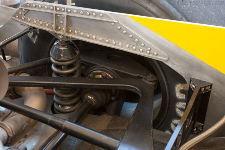 Rear packaging and suspension.