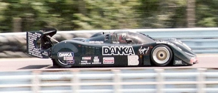 The BRM P351 at the 1992 Watkins Glen IMSA GTP round.