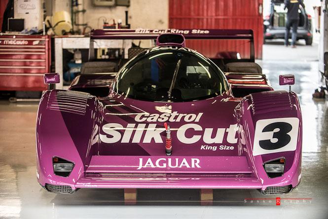 The 1991 WSC Jaguar XJR-14 © Stéphane Sasso - Sassography.