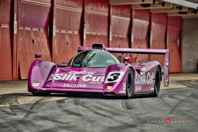 The 1991 WSC Jaguar XJR-14 © Stéphane Sasso - Sassography.