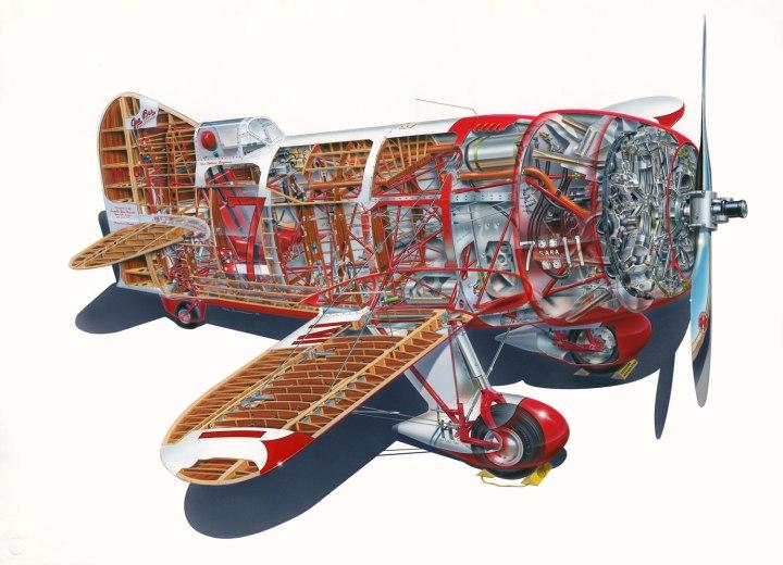 Gee-Bee-Model-R1