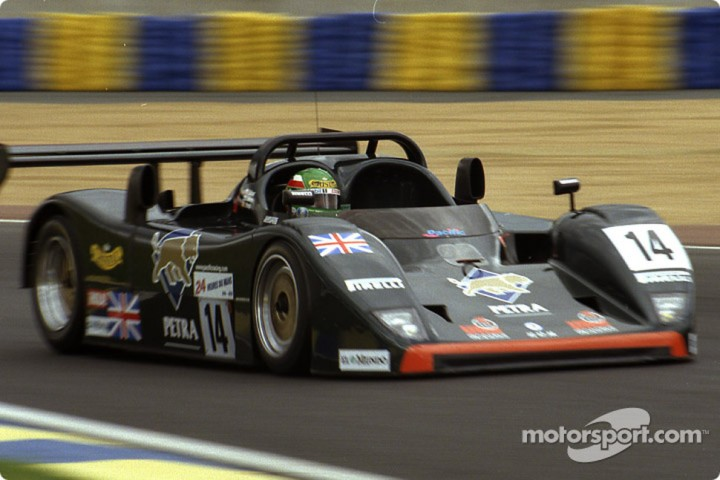 The BRM P301 at the 1996 Le Mans 24 Hours.
