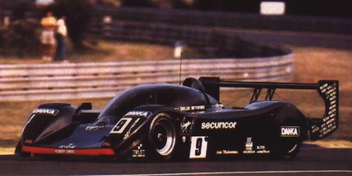 The BRM P351 at the 1992 Le Mans 24 Hours.