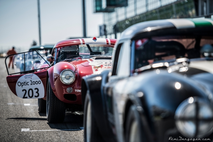 Magny-Cours, first circuit of the Tour, waiting for the start - © All Pictures - Copyright Rémi Dargegen Photography.