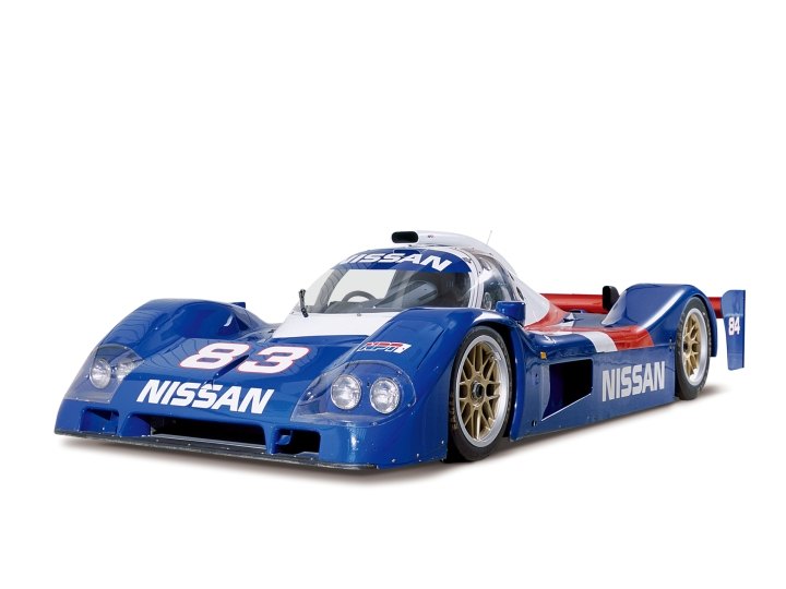 The Nissan P35 with its final aerodynamic package.