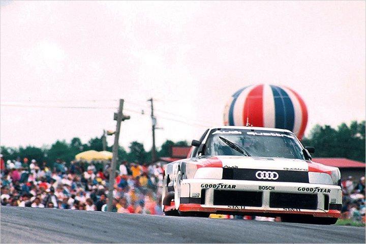 The 1989 Audi IMSA GTO.