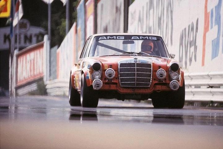 Mercedes Benz 300SEL 6.3 AMG - Spa 1971