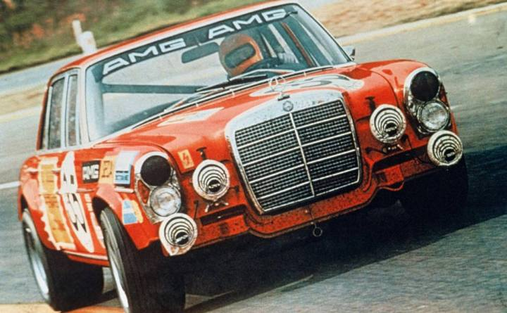Mercedes Benz 300SEL 6.3 AMG - Spa 1971