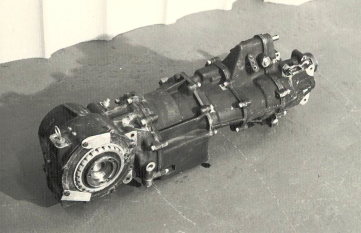 The RS200, FF Developments gearbox with integrated front differential.