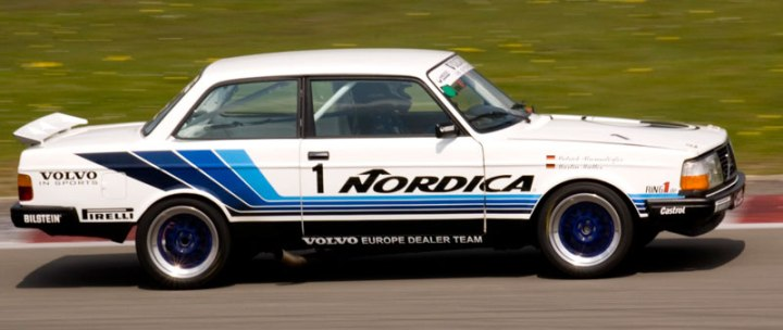 The 1986 RAS Sports Volvo 240T Grp. A.