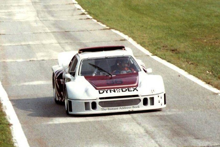 The IMSA GTO version of the RS200 here at Mid-Ohio in 1991.