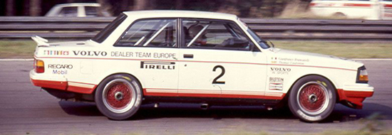 The 1985 Eggenberger Volvo 240T Grp. A.