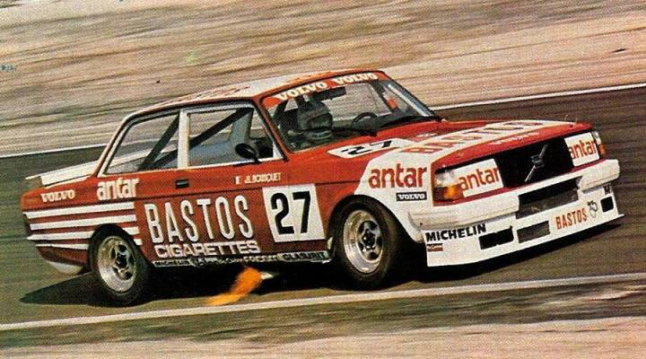 "The 1982 French ""Production"" Volvo 240T."