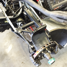 Rear suspension.