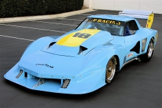 The 1977 Greenwood Corvette raced by JLP Racing.