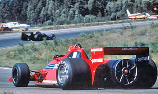 The Brabham BT46B as seen in Anderstorp.