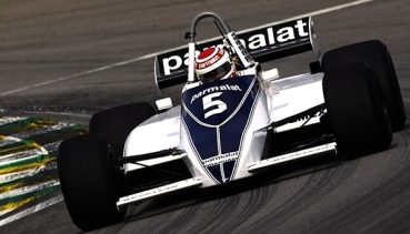 "The Brabham BT49 or Gordon Murray version of a ""wing car""."