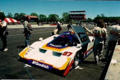 Jim Busby Lola-Nissan GTP as raced by John Paul Jr.