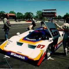Jim Busby Lola-Nissan GTP as raced by John Paul Jr.