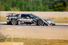The last car driven by John Paul Jr, the Corvette C5R GT1.