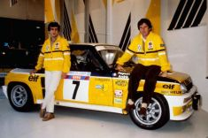 The 1981 Monte-Carlo winning car with Ragnotti and Andrié.