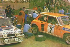 1983 Albena Rally Service.