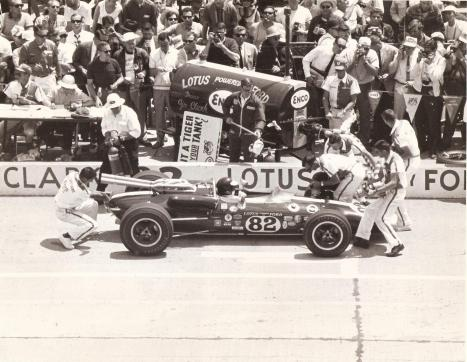 1965 Indy 500, Wood Brothers Style.