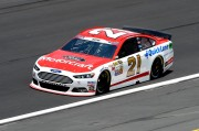 Trevor Bayne, Wood Brothers Racing and the 2014 Ford Fusion in Nascar Sprint Cup.