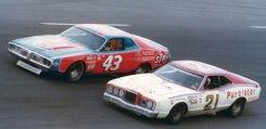Wood Brothers Racing Vs. Richard Petty.