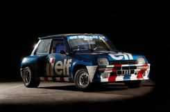 Ragnotti's own Europa Cup R5 Turbo.