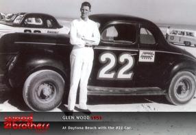 Glen Wood, 1951 Daytona Beach.