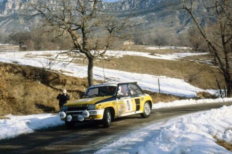 1981 Monte-Carlo, Jeannot chasing the win !
