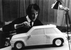 Yves Legal, designer of the Renault 5 Turbo.