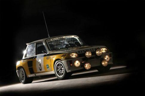 "The 1984 Tour de Corse winning car a ""Maxi Group B"" version."