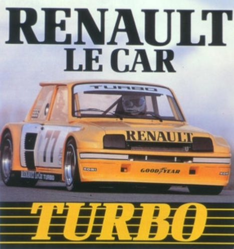 American advertising for the so-called Renault Le Car Turbo.