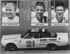 1967 Wood Brothers, Driver and Crew.