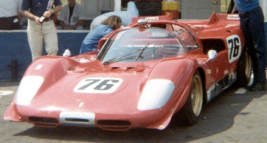 Chassis #1040 as originally raced by Jim Adams in the 1970 CanAm.